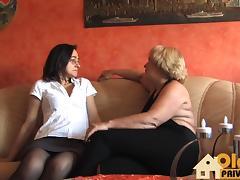 Alte Lesben im Sex rausch