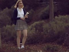 Teacher and the teen in a short skirt fucking hardcore