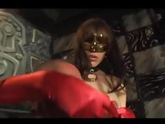 Hot busty latina fucks a boy