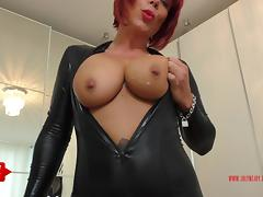 Catsuit, Amateur, Anal, Catsuit, Dirty, Dirty Talk