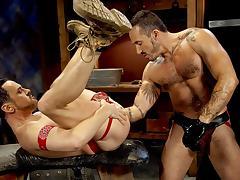 Alessio Romero & Evan Matthews in Wrist Wranglers, Scene #04