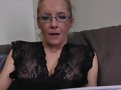 Dare, Blonde, Dare, Dildo, Fucking, Glasses