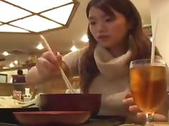Fornication in the love hotel and dinner with amateur girl
