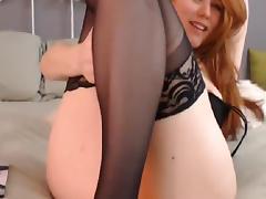 Horny Busty Webcam Babe Masturbate Hardcore