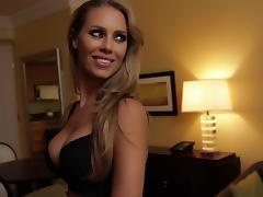 Hotel, Blonde, Blowjob, Hotel, Lingerie, Reality