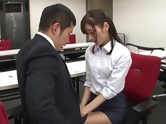 Unforgettable fingering action for her stunning Japanese beaver