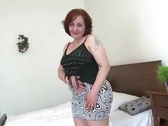 Fat ass granny