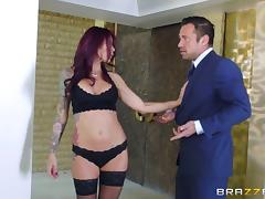 Milf lingerie babe gets the great hardcore fucking she deserves