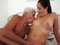 Dad and Girl, Asshole, Blowjob, Close Up, Couple, Cowgirl