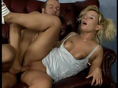 German Blonde Anal