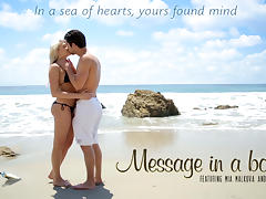 Mia Malkova & Seth Gamble in Message In A Bottle Video