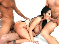 Ava Addams First Gangbang Finale - ArchangelVideo