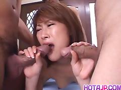 Aya Sakurai superb POv scenes of hardcore sex