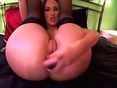 Webcam model Shampane hammer pussy and ass