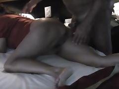Lynn gets mtongue and cock in ass