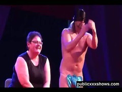 Amateur male stripper