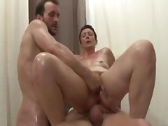 Hot Mature - Dble Vag Deep Fisting CIM Facials MMF