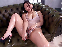 Amazing Japanese chick Ai Sayama in Crazy JAV censored Facial, Big Tits clip