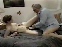 Hot grandpa fucks cunt