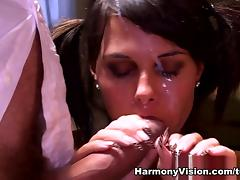 Melanie in Teasing The Teachers - HarmonyVision
