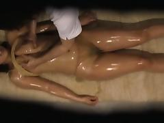 Yummy Japanese hottie enjoys a hidden cam fuck massage