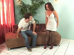Hot mature in stockings  heels fucks great (top mature)