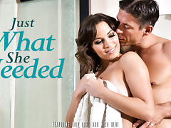 Lily Love & Mick Blue in Just What She Needed Video