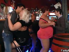 Bar, Bar, BBW, Chubby, Chunky, Fat