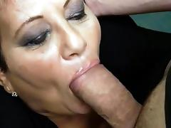 Mature Sucks & Gets Anal Fuck