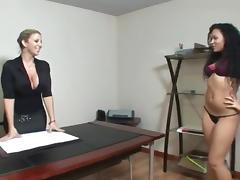 Audition, Audition, Big Tits, Casting, Fingering, Lesbian