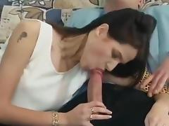 Brunette, Brunette, German, Small Tits, Toys, French Teen