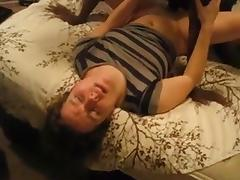 Wife lets BBC cum inside while hubby films