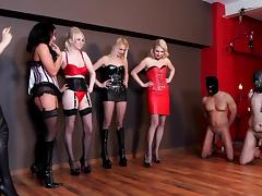Five Mistress Ballbusting