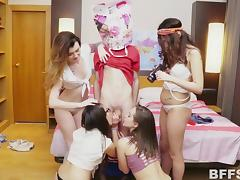 All, Birthday, Blowjob, Group, Handjob, Orgy