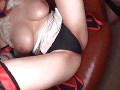 Ooshima airu cosplay busty natural tits 1