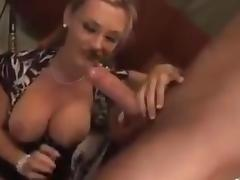 milf caught him wanking