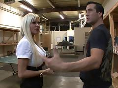 Big cock and sexy Nikita Von James fucking hardcore