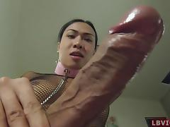 Ladyboy Noon Fucks And Fucked Bareback