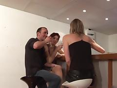 2 french cougars trio