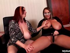Laura Orsoia and Joanna Bliss have a lot of breaks
