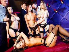 Lea Guerlin, Nikita Bellucci, Sophia Laurein A French Affair,  Scene 4 - DigitalPlayground