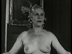 mom dancing, stripping & fucking - circa 40s