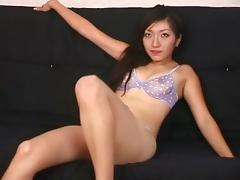 Stunning Yume goes naked and exposes all of her intimate areas