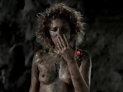 Valeria Golino nude in Italian Greenpeace ad