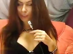 Private show with hot russian babe Boneey