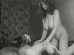 1960, Big Tits, Boobs, Classic, College, Hairy