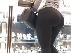 Latex, Ass, Big Ass, Latex, Spandex, Voyeur