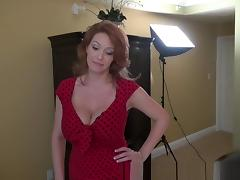 Crazy Amateur record with Redhead, Big Tits scenes