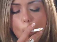 Cigarette, Blonde, Smoking, Cigarette