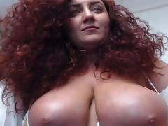 Red, Amateur, Big Tits, Boobs, Curly, Huge